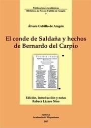 El conde de Saldaña y hechos de Bernardo del Carpio