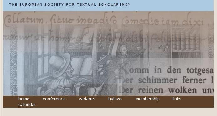 European Society of Textual Scholarship